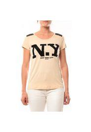 T-Shirt Love Look NY 1660 Beige