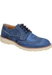 classiche blu nabuk BS07