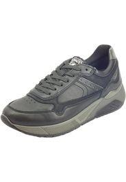 4136300 Nappa Soft Nero Sneakers Uomo in pelle nera