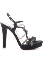 772 Sandalo tacco  Donna Nero