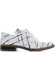 scarpe donna scarpe classiche SC05 BIANCO-NERO