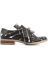 scarpe donna scarpe classiche SC05 NERO-ARGENTO