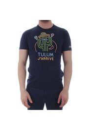 Saint Barth T-Shirt Uomo Tulum Neon 61