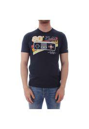Saint Barth T-Shirt Uomo Console 61