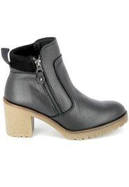 Boots Alas Zip Noir