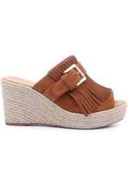37175 Sandalo zeppa  Donna Cuoio
