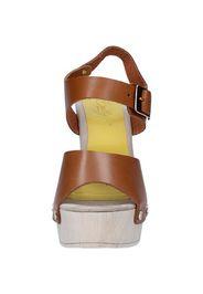 sandali marrone pelle AC482