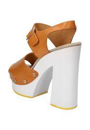 sandali marrone pelle AC485