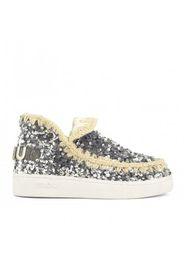 Mou - Summer Eskimo Sneaker Tone on Tone Sequins -