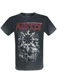 Accept - Rise Of Chaos - T-Shirt - Uomo - nero grigio