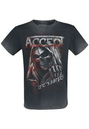 Accept - Life's A Bitch - T-Shirt - Uomo - nero grigio