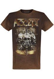 Accept - Nuclear Skulls - T-Shirt - Uomo - ruggine