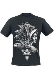 Alluvial - Black Dog - T-Shirt - Uomo - nero