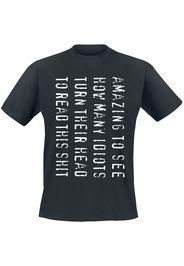 Amazing To See... -  - T-Shirt - Uomo - nero