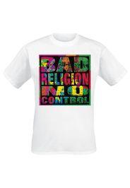 Bad Religion - No Control - T-Shirt - Uomo - bianco