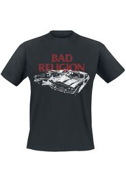 Bad Religion - Car Crash - T-Shirt - Uomo - nero