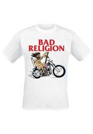 Bad Religion - American Jesus - T-Shirt - Uomo - bianco