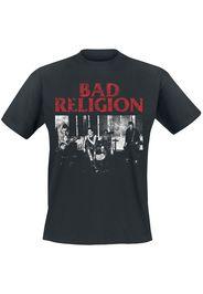 Bad Religion - Live 1980 - T-Shirt - Uomo - nero