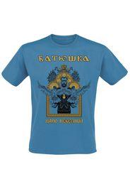 Batushka - Heavenly King - T-Shirt - Uomo - blu