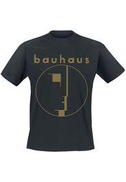 Bauhaus - Spirit Logo Gold - T-Shirt - Uomo - nero