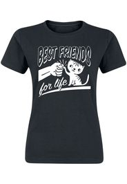 Best Friends For Life -  - T-Shirt - Donna - nero