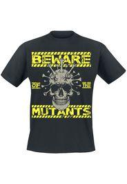 Beware Of The Mutants -  - T-Shirt - Uomo - nero