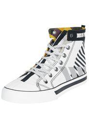 Birds Of Prey - Harley Quinn - Sneakers alte - Donna - nero bianco