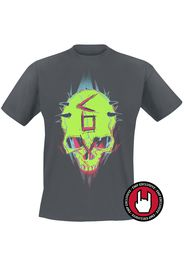 Borderlands - 3 - Children Of The Vault - Punk Graffiti - T-Shirt - Uomo - carbone