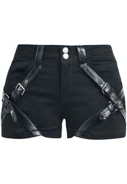 Chemical Black - Cara Shorts - Hot Pants - Donna - nero