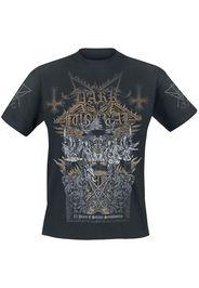 Dark Funeral - 25 Years Of Satanic Symphonies - T-Shirt - Uomo - nero