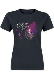 Darts - Dart Queen - T-Shirt - Donna - nero