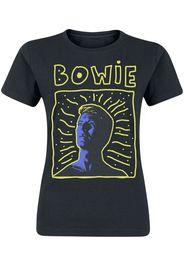 David Bowie - 90s Frame - T-Shirt - Donna - nero