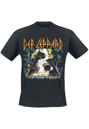 Def Leppard - Hysteria - T-Shirt - Uomo - nero