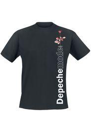 Depeche Mode - Violator Side Rose - T-Shirt - Uomo - nero