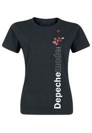 Depeche Mode - Violator Side Rose - T-Shirt - Donna - nero
