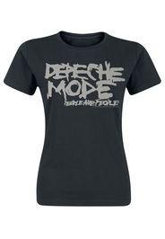 Depeche Mode - People Are People - T-Shirt - Donna - nero