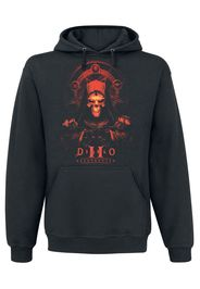 Diablo - 2 - Resurrection - Time to die - Felpa con cappuccio - Uomo - nero