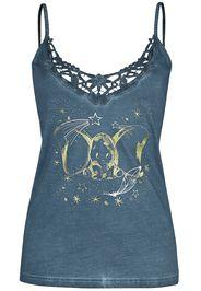 Dumbo - Silhouette - Top - Donna - blu