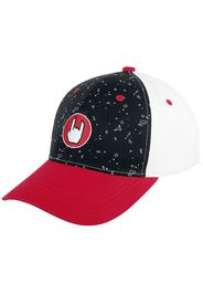 EMP - Stage Collection - Black/White/White Cap with Rockhand - Cappello - Unisex - nero rosso bianco