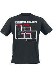 Festival Season 2021 -  - T-Shirt - Uomo - nero