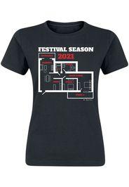 Festival Season 2021 -  - T-Shirt - Donna - nero