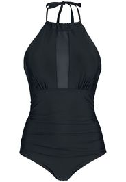 Forplay - Back Knotted Tech Mesh Swimsuit - Costume da bagno - Donna - nero
