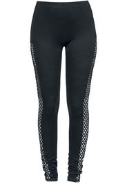 Forplay - Side Laced Leggings - Leggings - Donna - nero