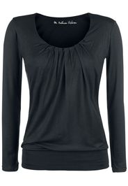 Forplay - Frail Shirt - Maglia a maniche lunghe - Donna - nero