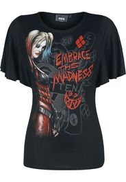 Harley Quinn - Embrace Madness - T-Shirt - Donna - nero