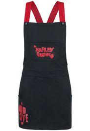 Harley Quinn - Mad Love - Miniabito - Donna - nero rosso