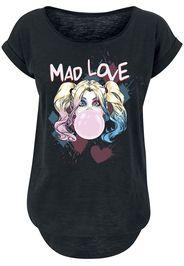 Harley Quinn - Mad Love - T-Shirt - Donna - nero