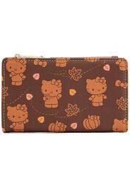 Hello Kitty - Loungefly - Pumpkin Spice - Portafoglio - Donna - multicolore