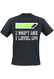 I Don't Age -  - T-Shirt - Uomo - nero