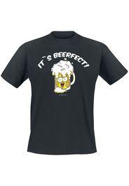 It's Beerfect -  - T-Shirt - Uomo - nero